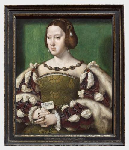 Frame for RCIN 403369, Van Cleve, Eleanor of Austria
