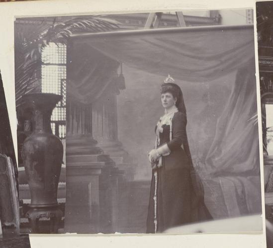 Master: Photographs of Queen Alexandra, and Princess Maud, February 1901 Item: Queen Alexandra (1844-1925)