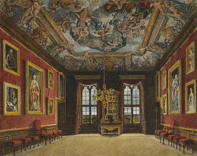 The King's Old State Bedchamber, Windsor Castle