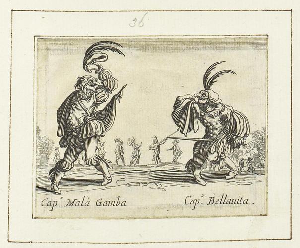Master: Balli di Sfessania Item: Capitano Mala Gamba and Capitano Bellavita