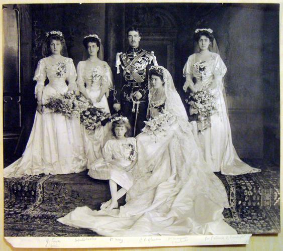 Wedding of Crown Prince Gustav of Sweden to Princess Margaret of Connaught, June 1905