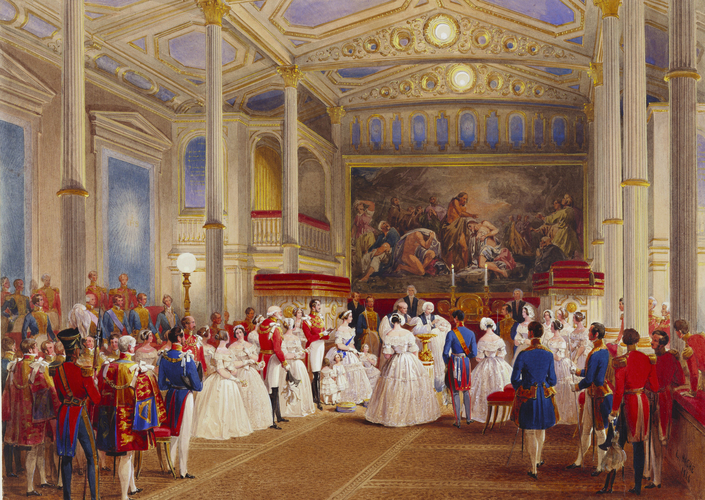 The Christening of Princess Helena, 25 July 1846