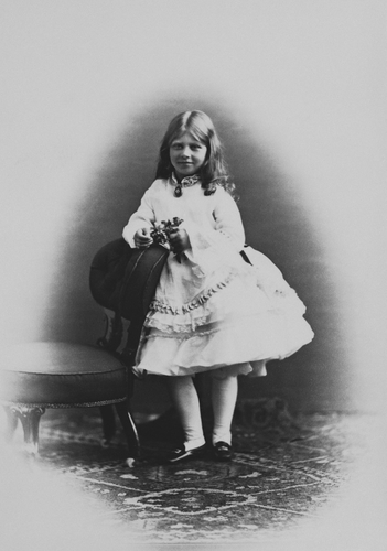 Princess Victoria of Prussia, August 1871 [in Portraits of Royal Children Vol. 16 1871-72]