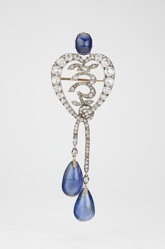 Diamond Jubilee Brooch