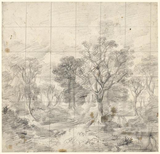 Study for 'Cornard Wood'
