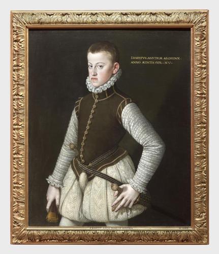 Frame for RCIN 405797, Coello, Archduke Ernest of Austria
