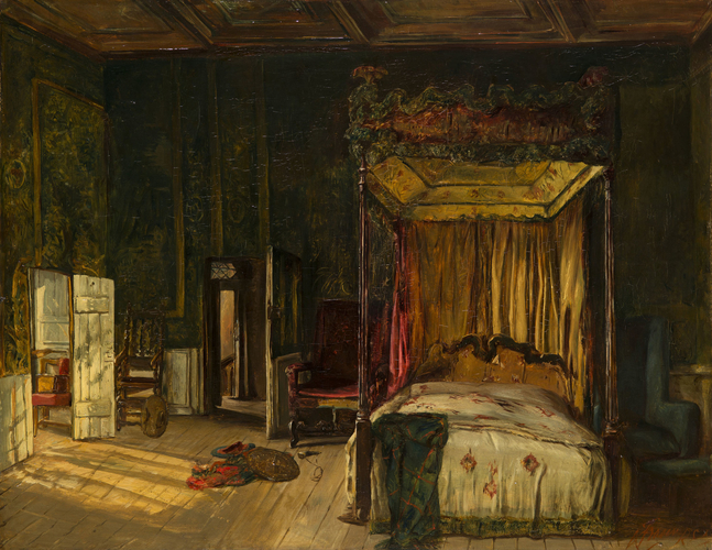 Mary, Queen of Scots Bedroom, Holyroodhouse