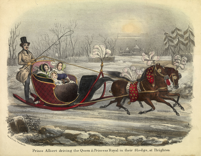 Prince Albert Driving The Queen And Princess