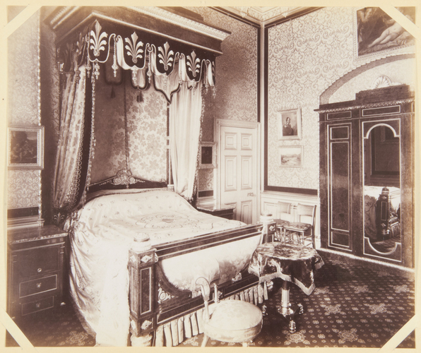 Unknown Person - A bedroom, Windsor Castle