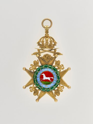 Order of the Guelphs. William IV's military badge
