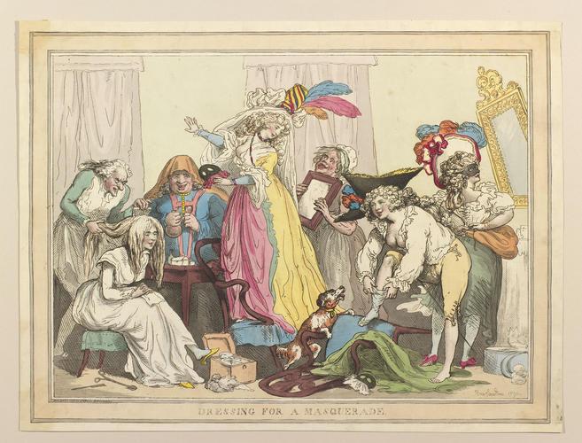 Dressing for a Masquerade