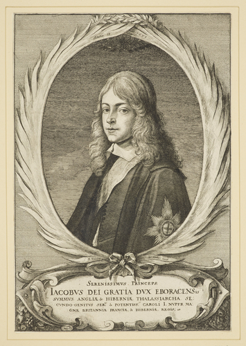 James, Duke of York in exile