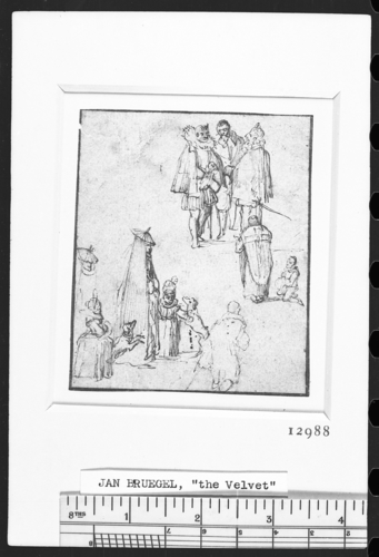 A sheet of figure studies