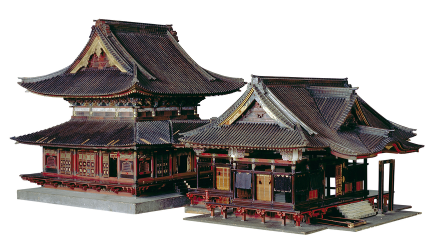 Model of the Taitokuin Mausoleum