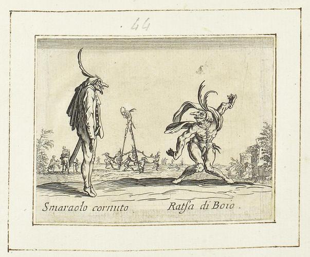 Master: Balli di Sfessania Item: Smaraolo Cornuto and Ratsa di Boio