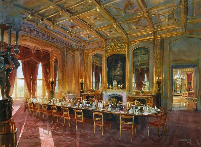 Windsor Castle: The State Dining Room