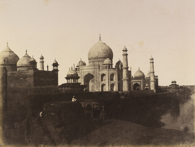 The Taj Mahal from the East