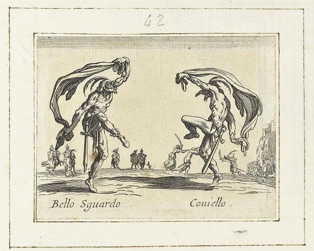 Master: Balli di Sfessania Item: Bello Sguardo and Coviello