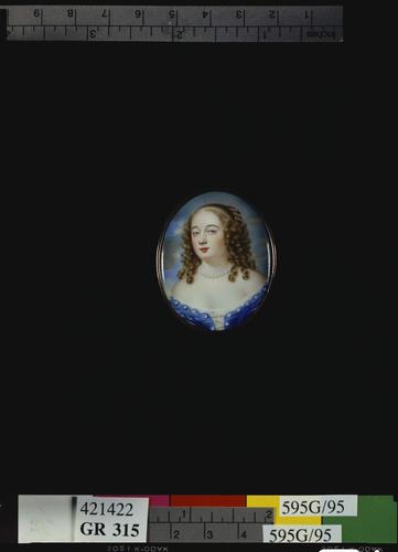 Portrait of a lady, called Anne Temple Lady Lyttleton (d. 1718)