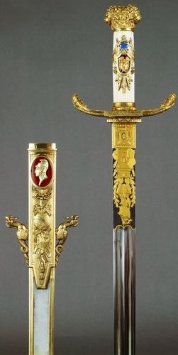 Robe sword and scabbard