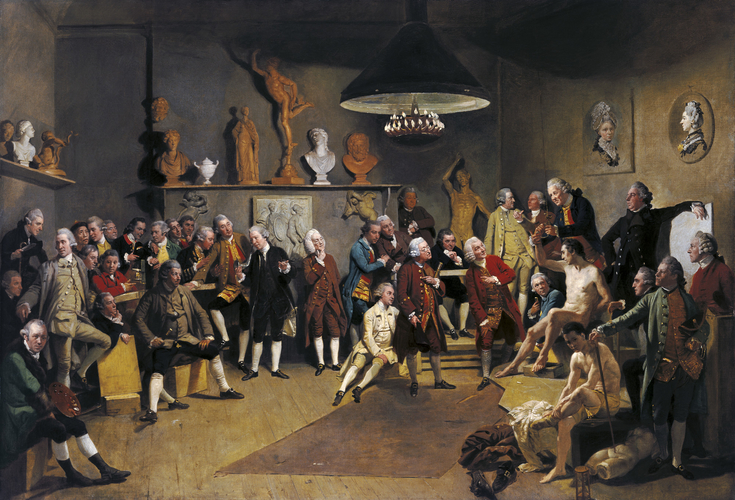 The Academicians of the Royal Academy