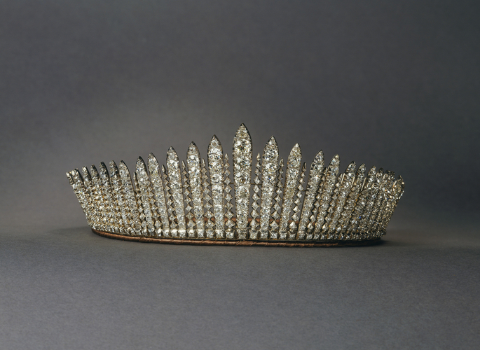 Queen Mary's Fringe Tiara