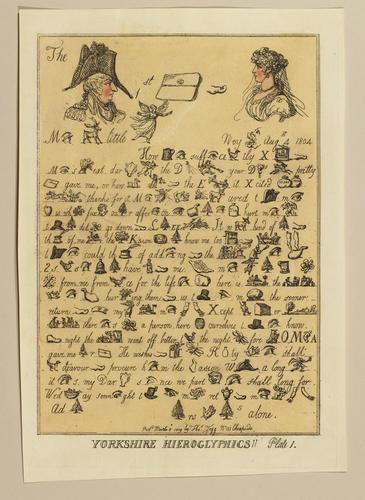 Yorkshire Hieroglyphics!! Plate 1