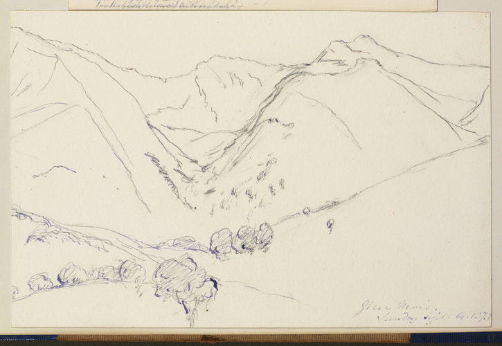 Master: Queen Victoria's Sketches Vol. II (1872-1892) Item: Glen Nevis