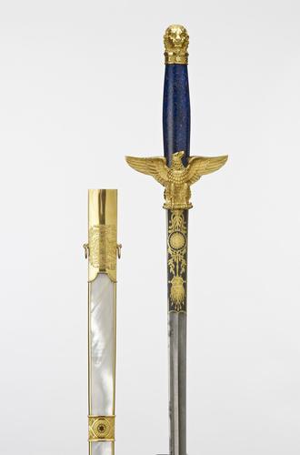 Robe sword, scabbard and baldric