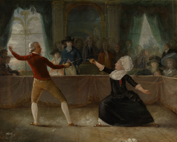 The Fencing-Match between the Chevalier de Saint-George and the Chevalier d'Eon