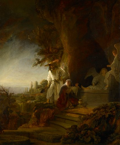 Christ and St Mary Magdalen at the Tomb
