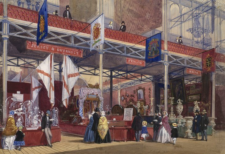 The Great Exhibition: Jersey, Guernsey, Malta and Ceylon