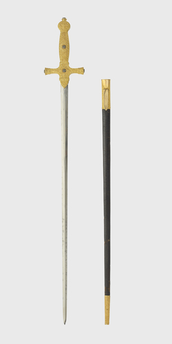 Sword used by George IV at his coronation