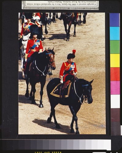 Trooping the Colour, 1985