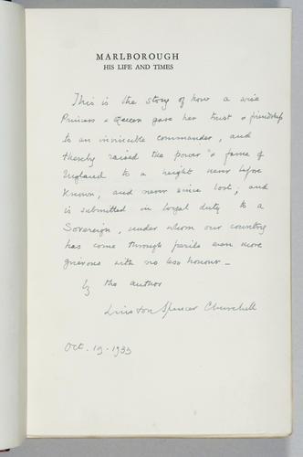 Marlborough : His Life and Times. Volume I/ Winston S. Churchill