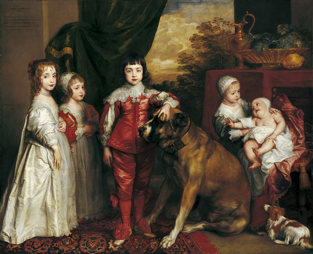 254bc6d01c Anthony van Dyck (1599-1641) - The Five Eldest Children of Charles I