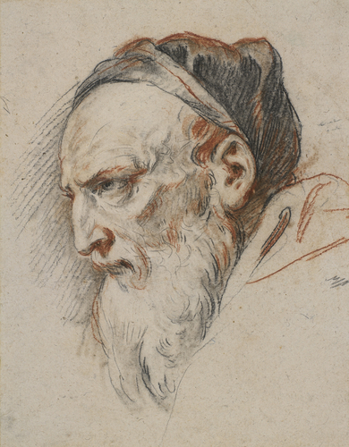 Study for the head of a Pharisee