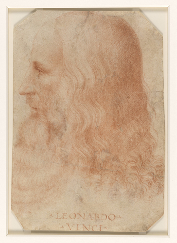 A portrait of Leonardo