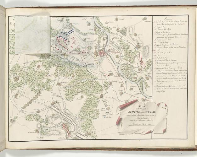 Master: Saxony, 1547-1763 (Saxony, Germany) Item: Map of the Battle of Torgau, 1760 (Torgau, Saxony, Germany) 51?34'00