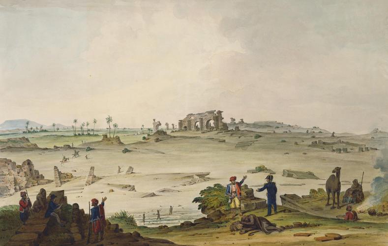 The ruins at Lebida (Leptis Magna), near Tripoli