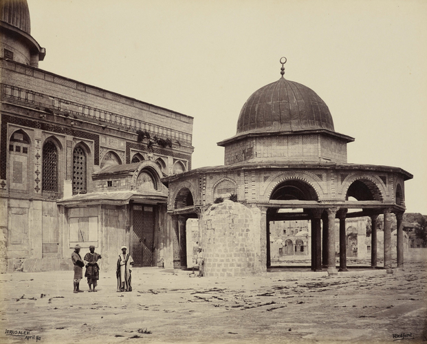 Mosque of Omar [Dome of the Chain, at the Dome of the Rock, Jerusalem]