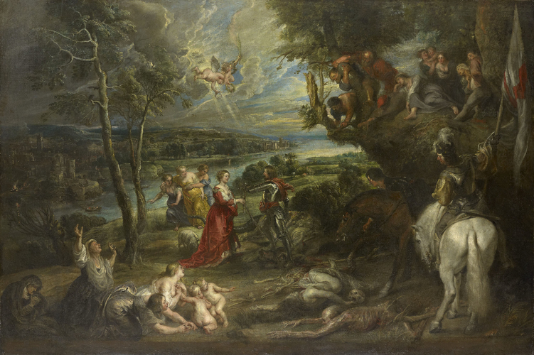 Landscape with St George and the Dragon