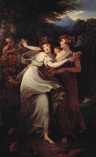 Mrs Jordan (1761-1816) as the Comic Muse