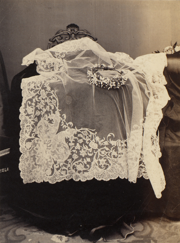 Veil worn by Queen Victoria at her marriage