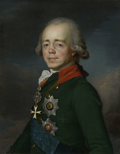 Paul I, Emperor of Russia (1754-1801), when Grand Duke of Russia