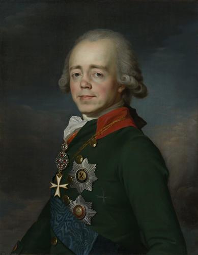 Paul I, Emperor of Russia (1754-1801), when Grand Duke of Russia