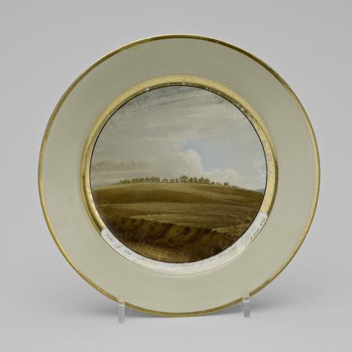 Master: Battle of Waterloo commemorative plates Item: Battle of Waterloo commemorative plate