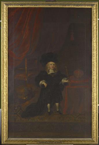Frame for RCIN 404964, studio of Del Mazo, Carlos II, King of Spain