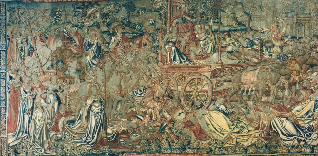 Master: The Triumphs of Petrarch Item: Triumph of Death over Chastity