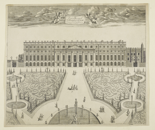 An exact prospect of Hampton Court